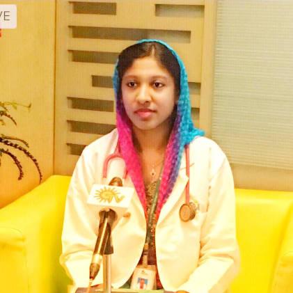 Dr. Afreen Banu Khan, General Physician/ Internal Medicine Specialist Online