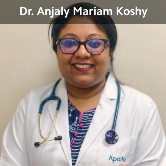 Dr. Anjaly Mariam Koshy, Paediatrician Online