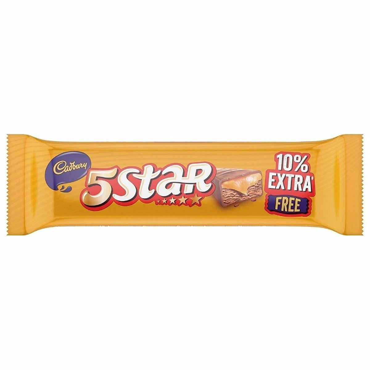 Cadbury 5 Star Chocolate Bar, 11.1 gm