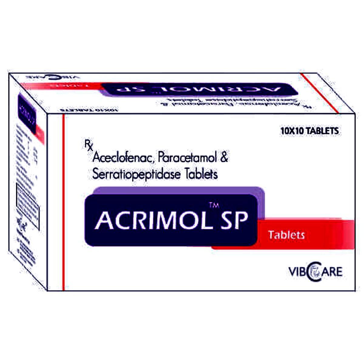 Acimol Sp Tablet 10's