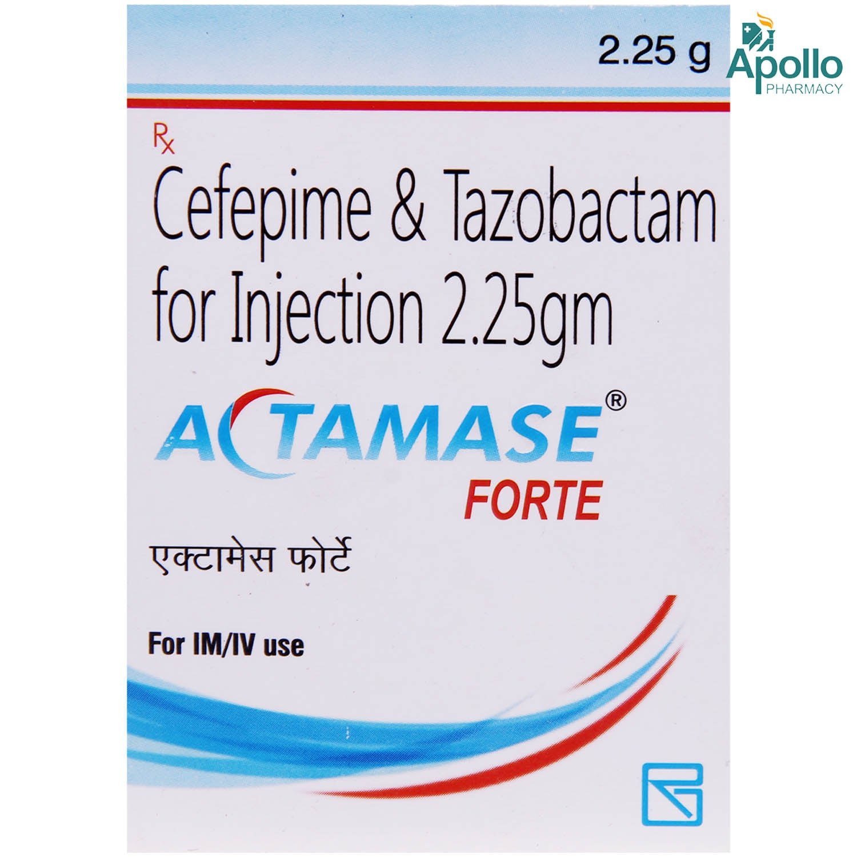 Actamase Forte 2.25gm Injection