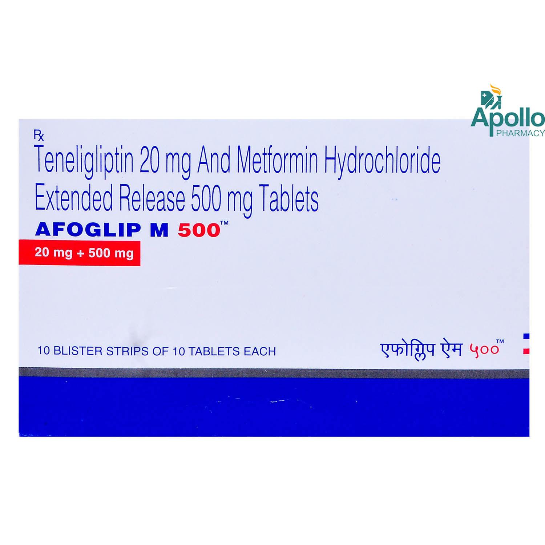 AFOGLIP M 500 TABLET 10'S