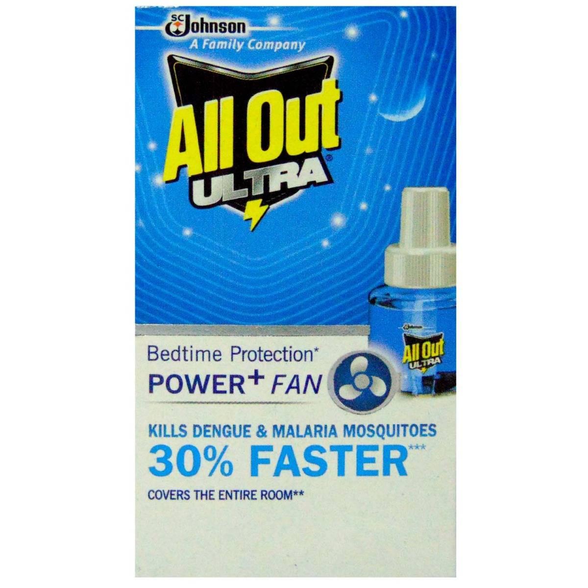 All Out Ultra Power + Fan Refill 45ml