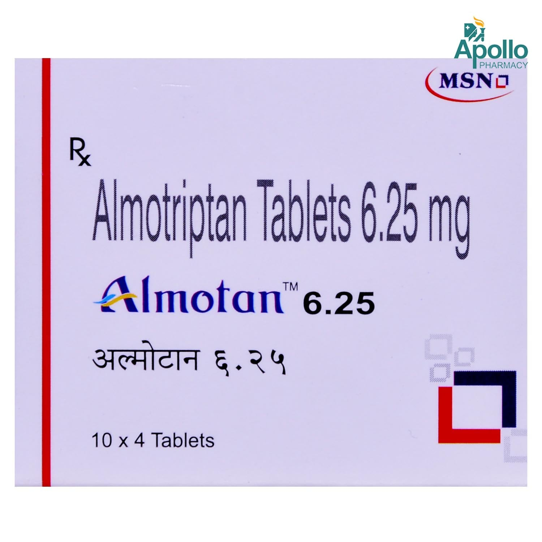 ALMOTAN 6.25MG TABLET