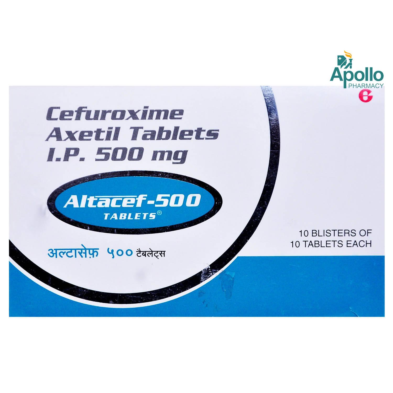 ALTACEF 500MG TABLET