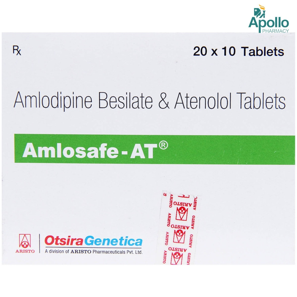 Amlosafe AT Tablet 10's