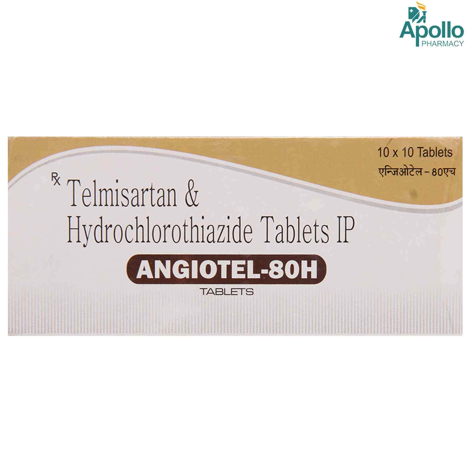 ANGIOTEL H 80MG TABLET