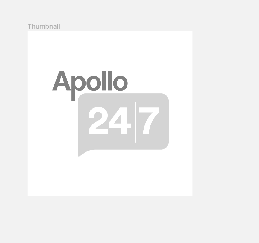 Apollo Pharmacy Oval Thermometer Large, 1 Count