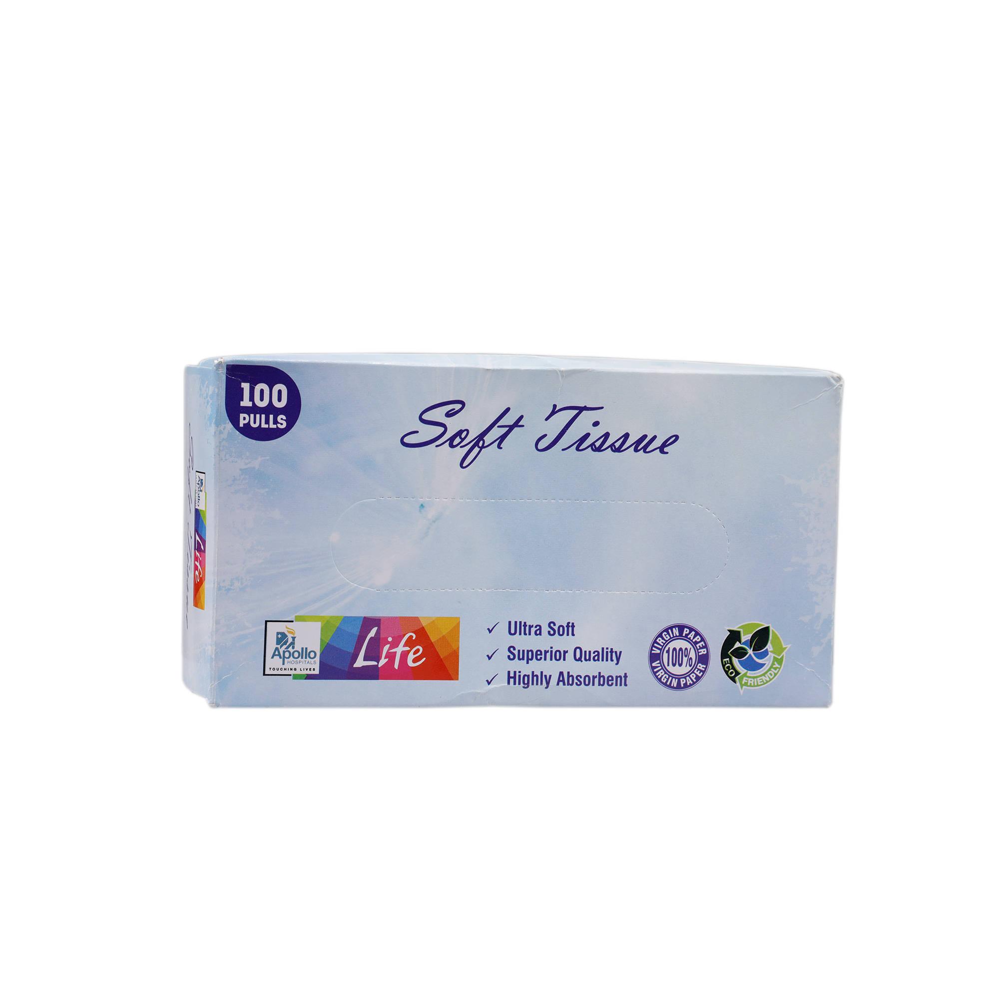 Apollo Life Soft Tissue Pulls, 100 Count