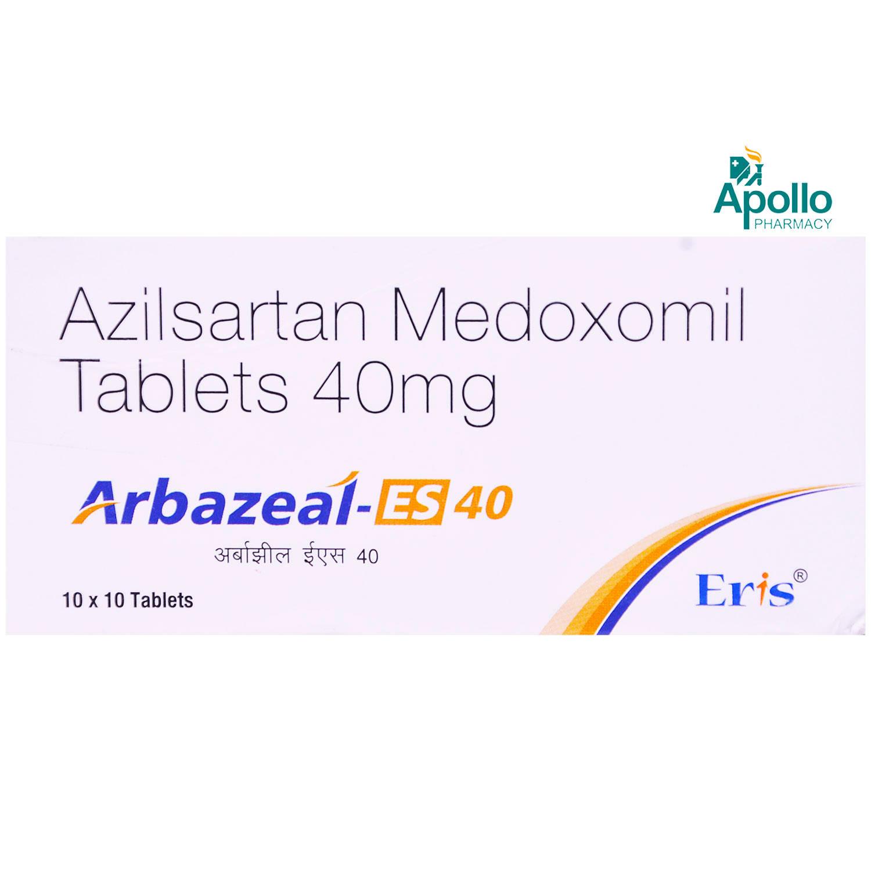 ARBAZEAL ES 40MG TABLET 10'S