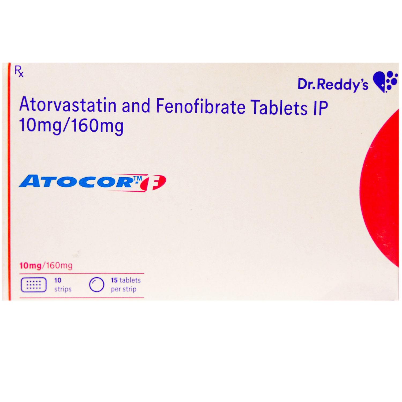 Atocor-F Tablet 15's