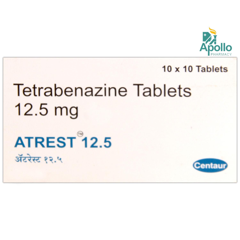 ATREST 12.5 TABLET 10'S