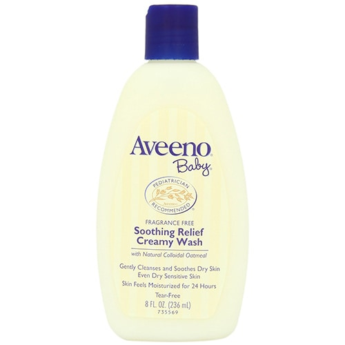 Aveeno Baby Soothing Relief Creamy Wash, 236 ml