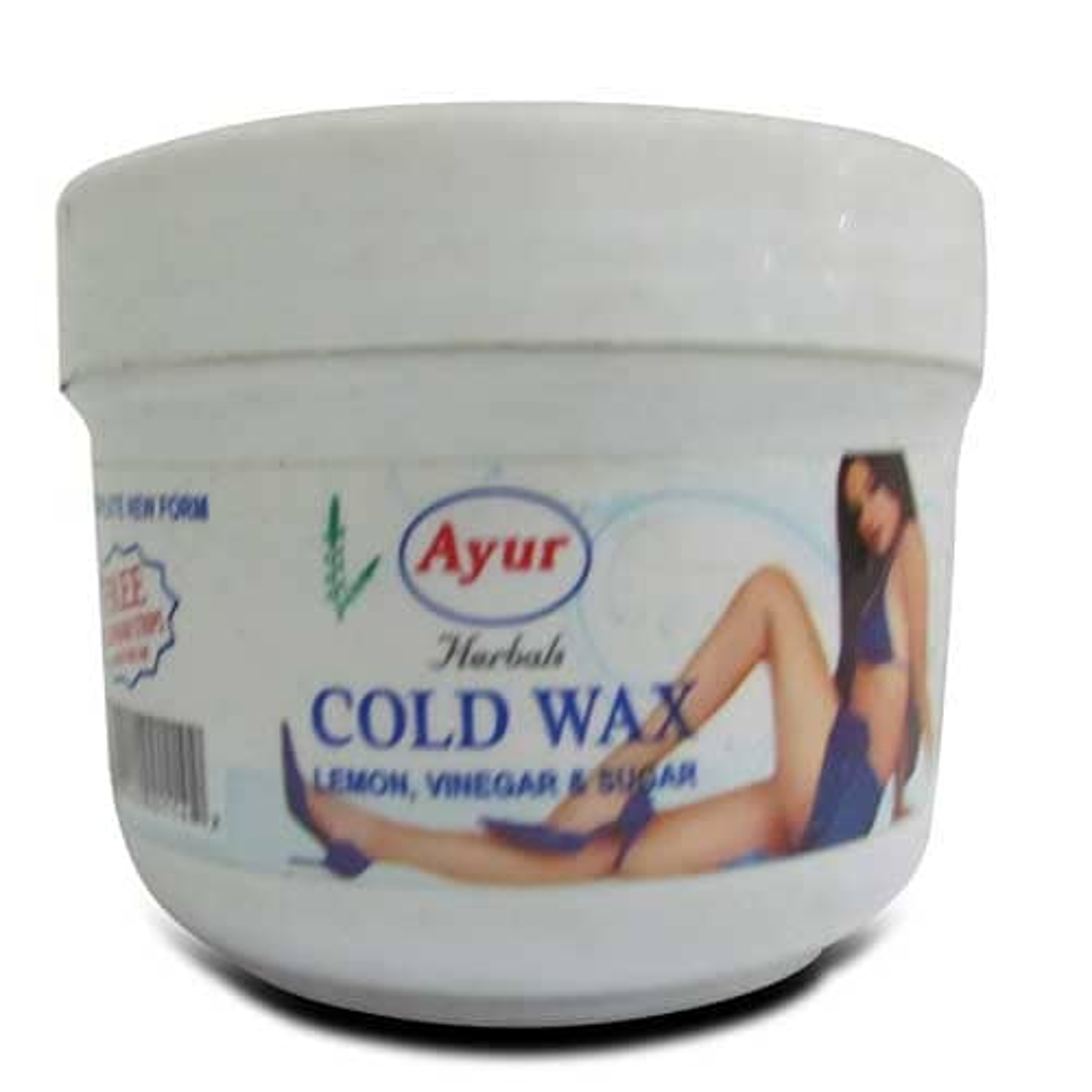 Ayur Herbal Cold Wax Hair Removal Cream, 150 gm