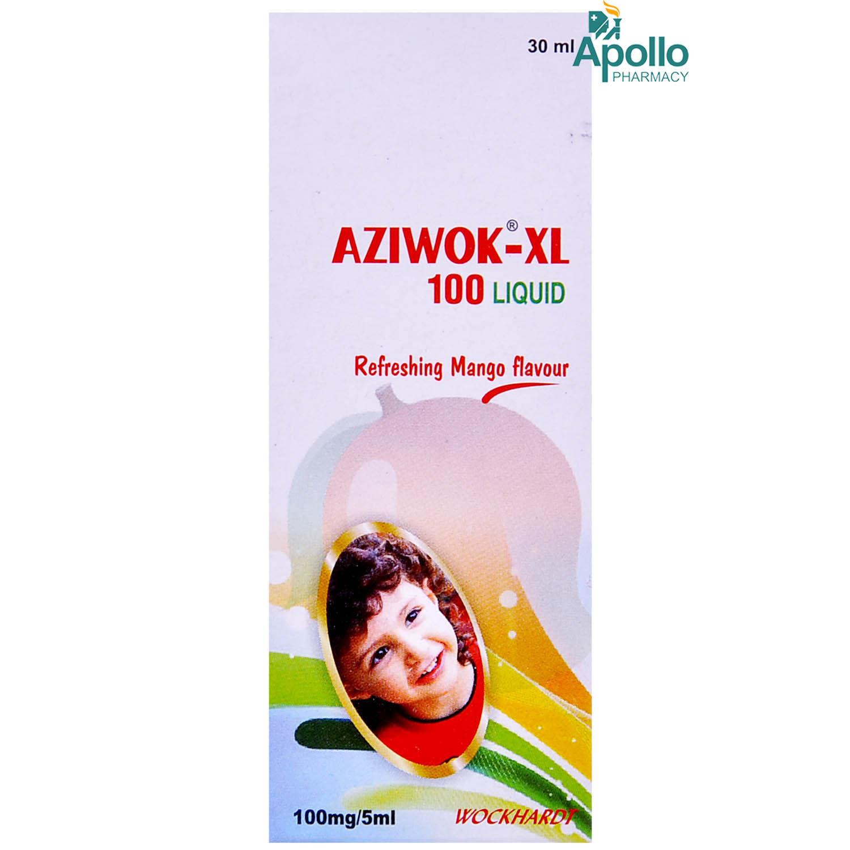AZIWOK XL 100MG LIQUID 30ML