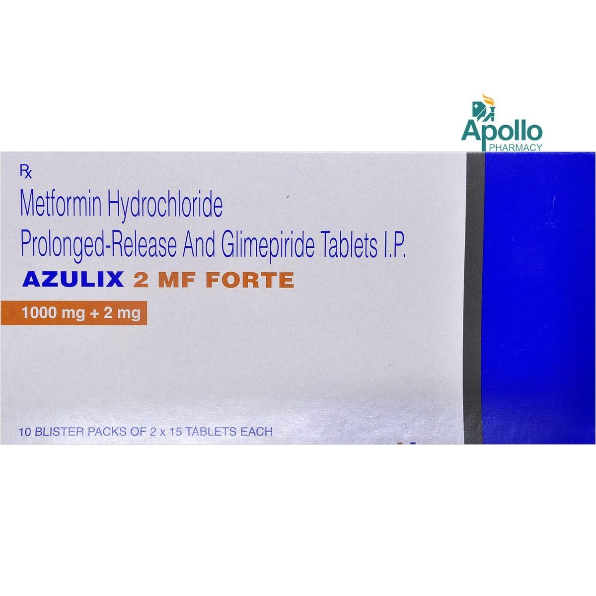Azulix 2 MF Forte Tablet  15's