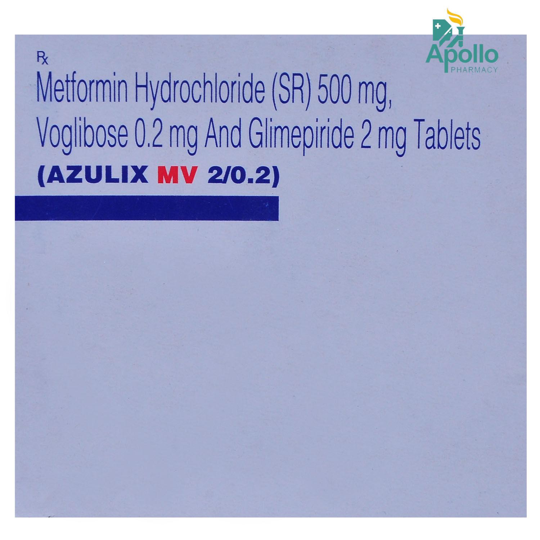 Azulix MV 2/0.2 Tablet 10's