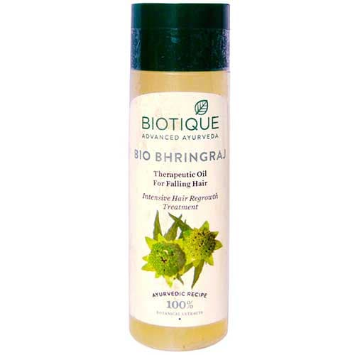 Biotique Bio Bhringraj Therapeutic Oil, 120 ml