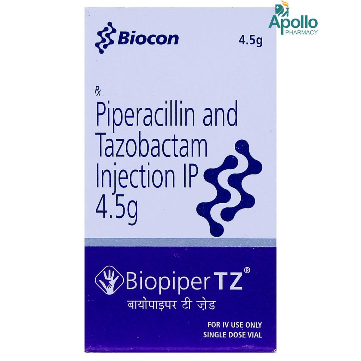 BIOPIPER TZ INJECTION 4.5GM