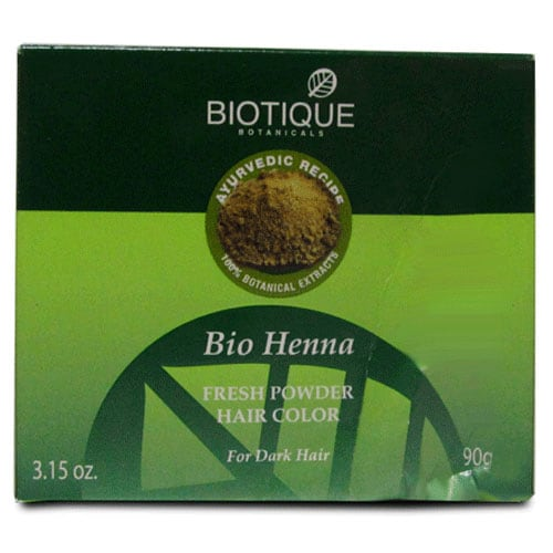 Biotique Bio Henna Fresh Hair Color Powder, 90 gm