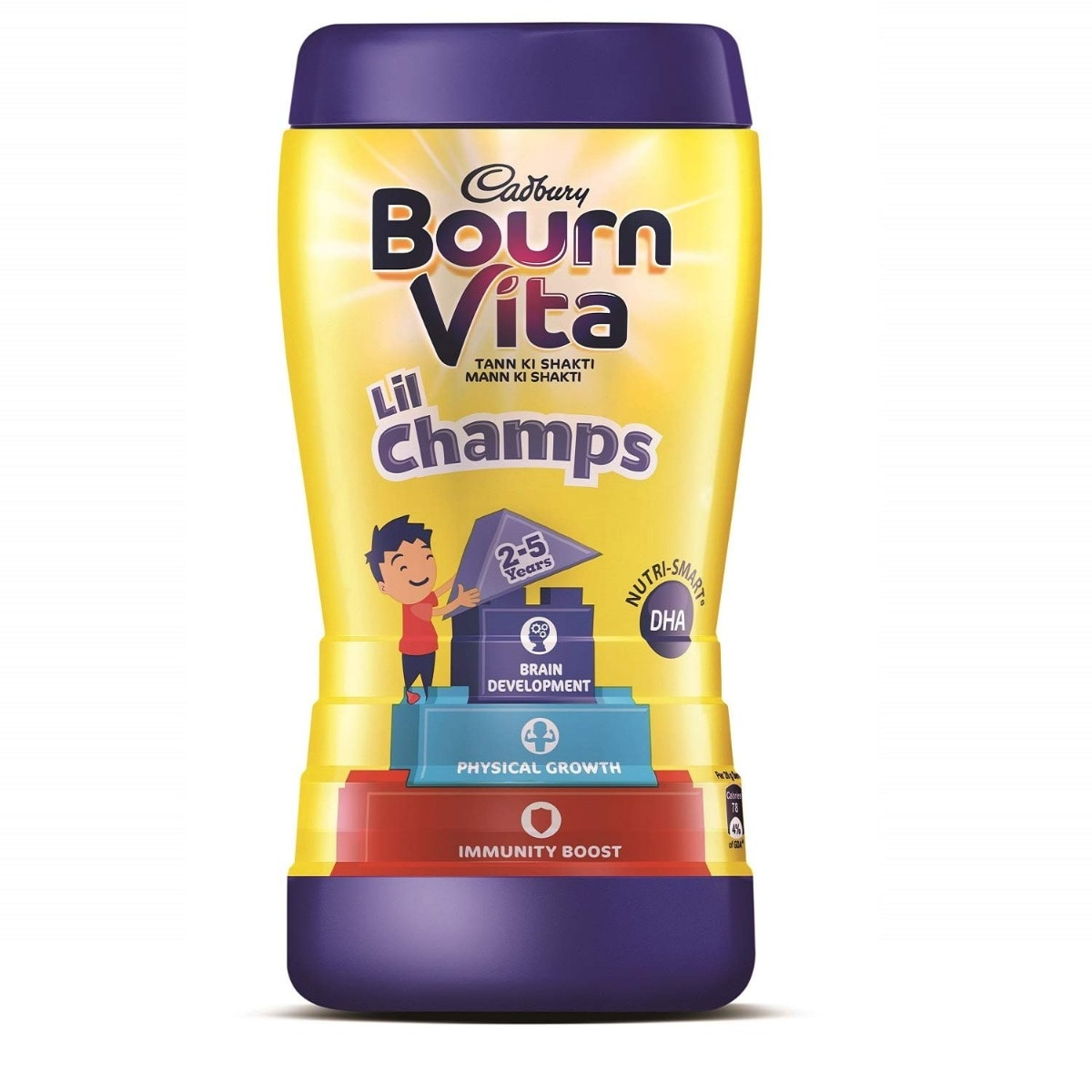 Bournvita Lil Champs Nutrition Drink 2 to 5 Years, 500 gm Jar