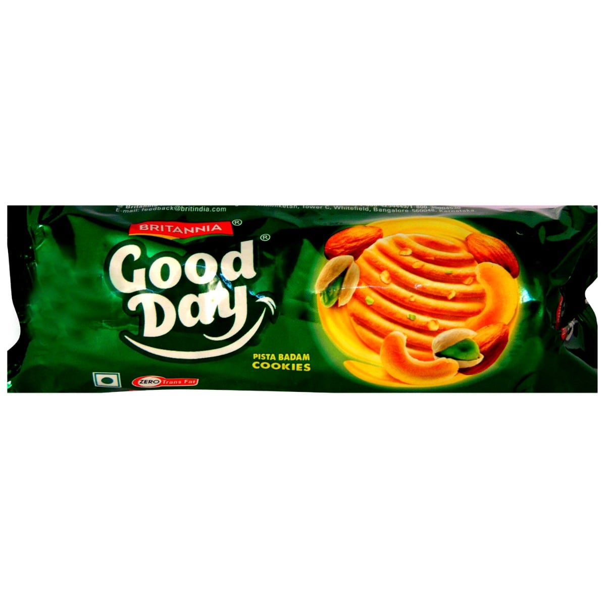 Britania Good Day Pista Badam Cookies, 100 gm