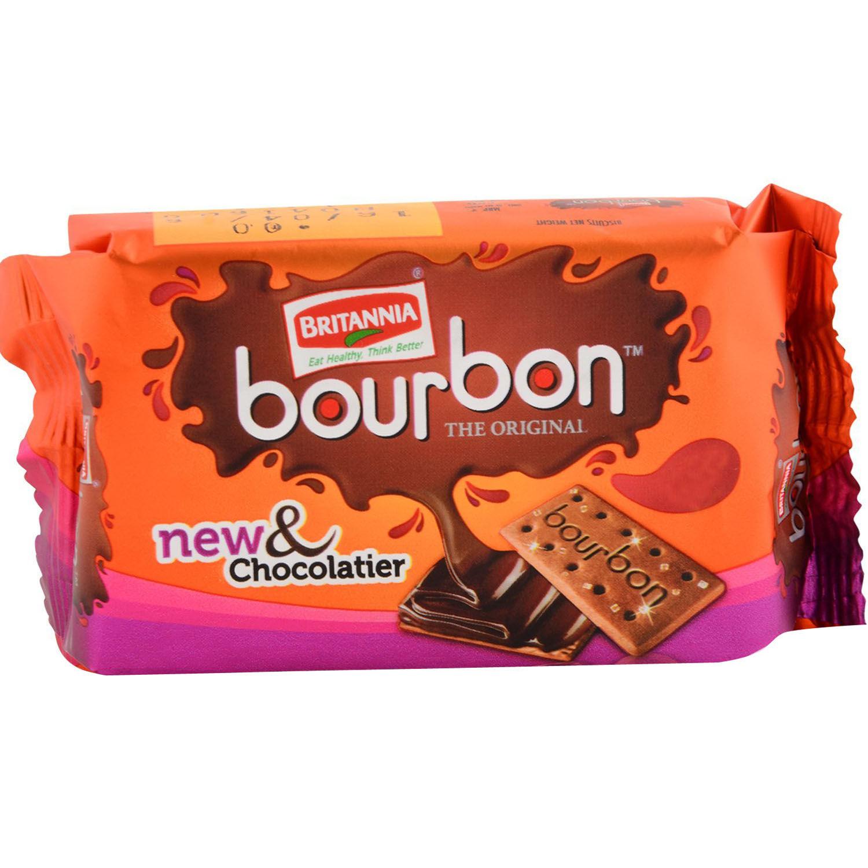 Britania Bourbon Biscuits, 60 gm