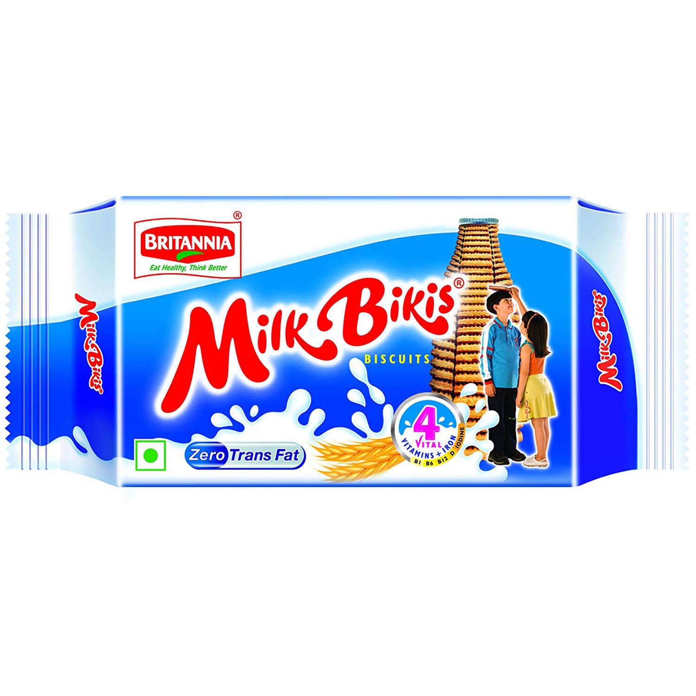 Britannia Milk Bikis Biscuits, 75 gm