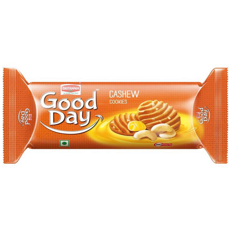 Britannia Good Day Cashew Cookies, 120 gm