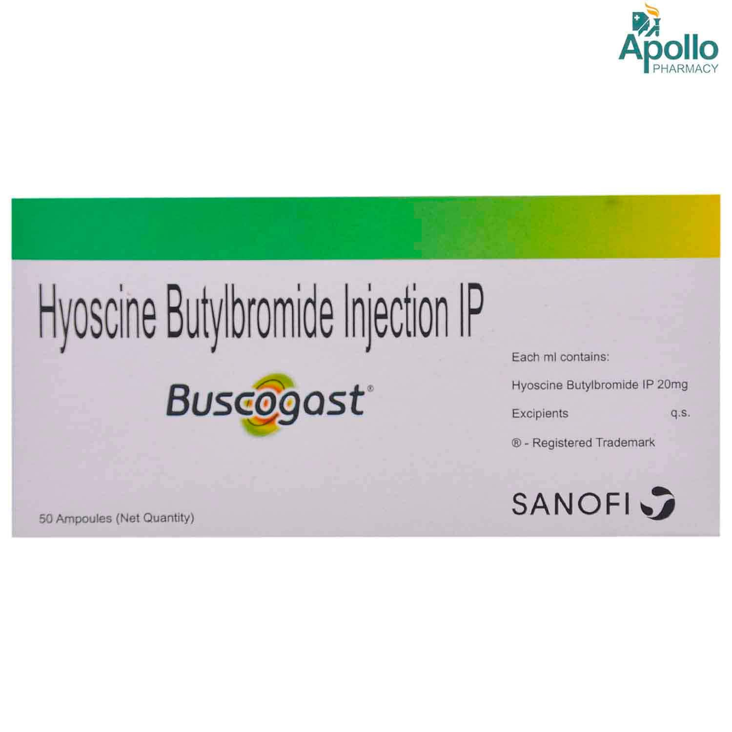 BUSCOGAST INJECTION 1ML