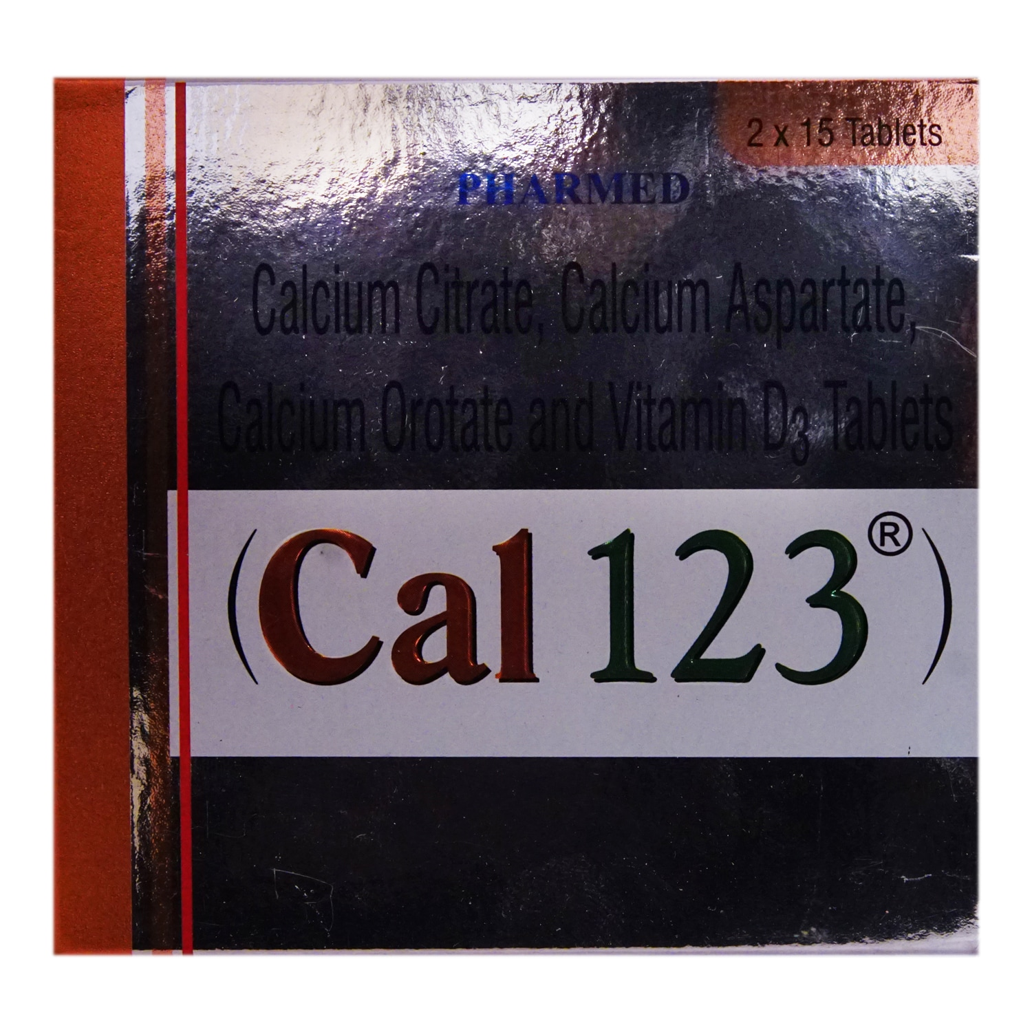 Cal 123 Tablet 15's