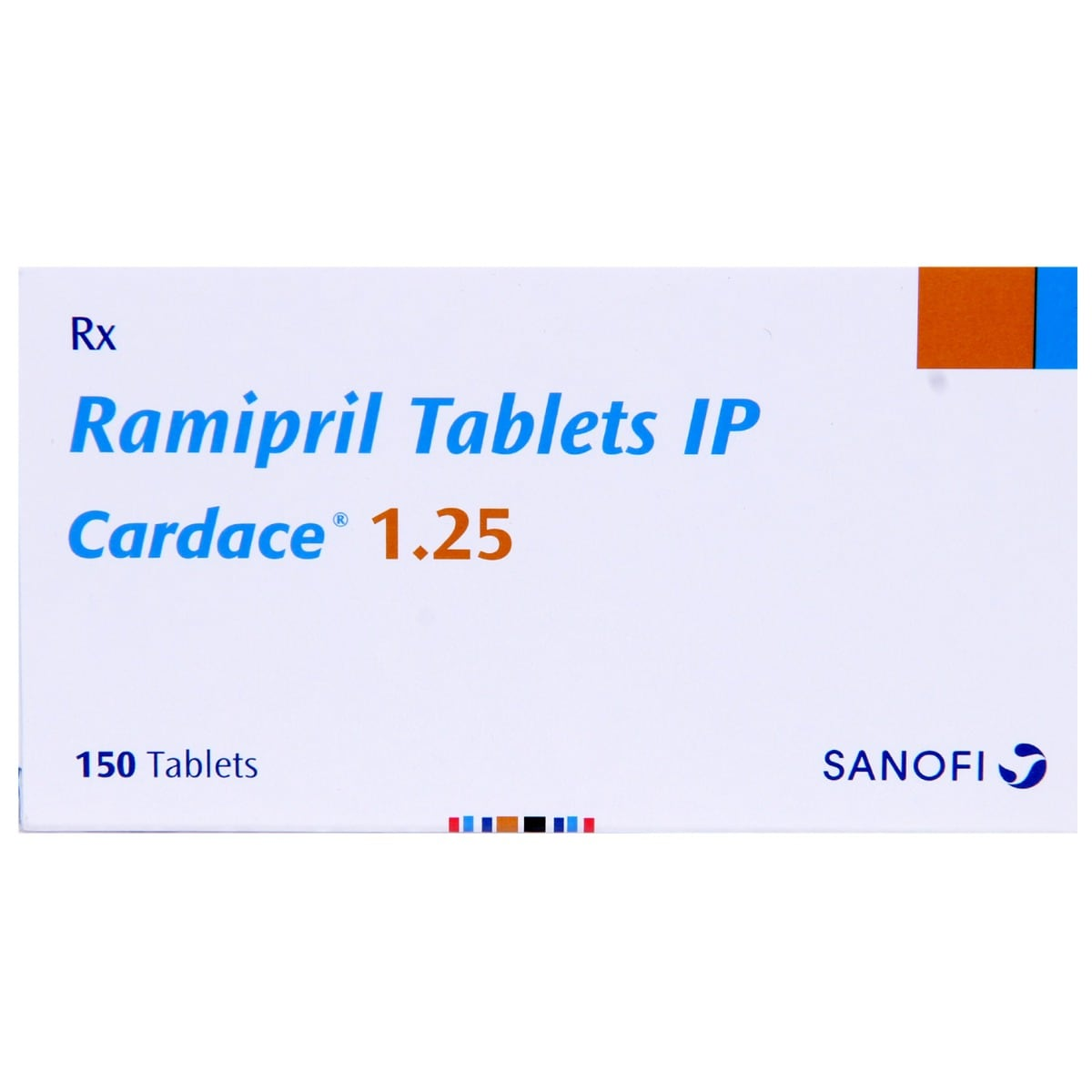 Cardace 1.25mg Tablet 15's