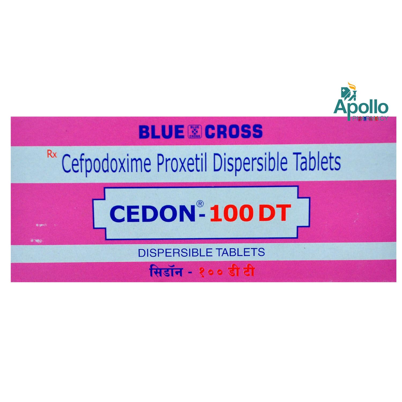 CEDON DT 100MG TABLET