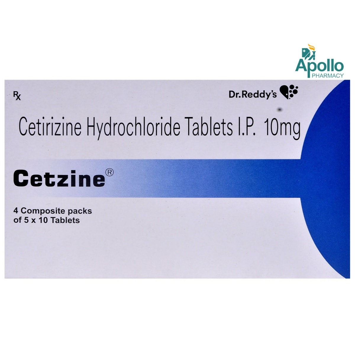 Cetzine Tablet 10's