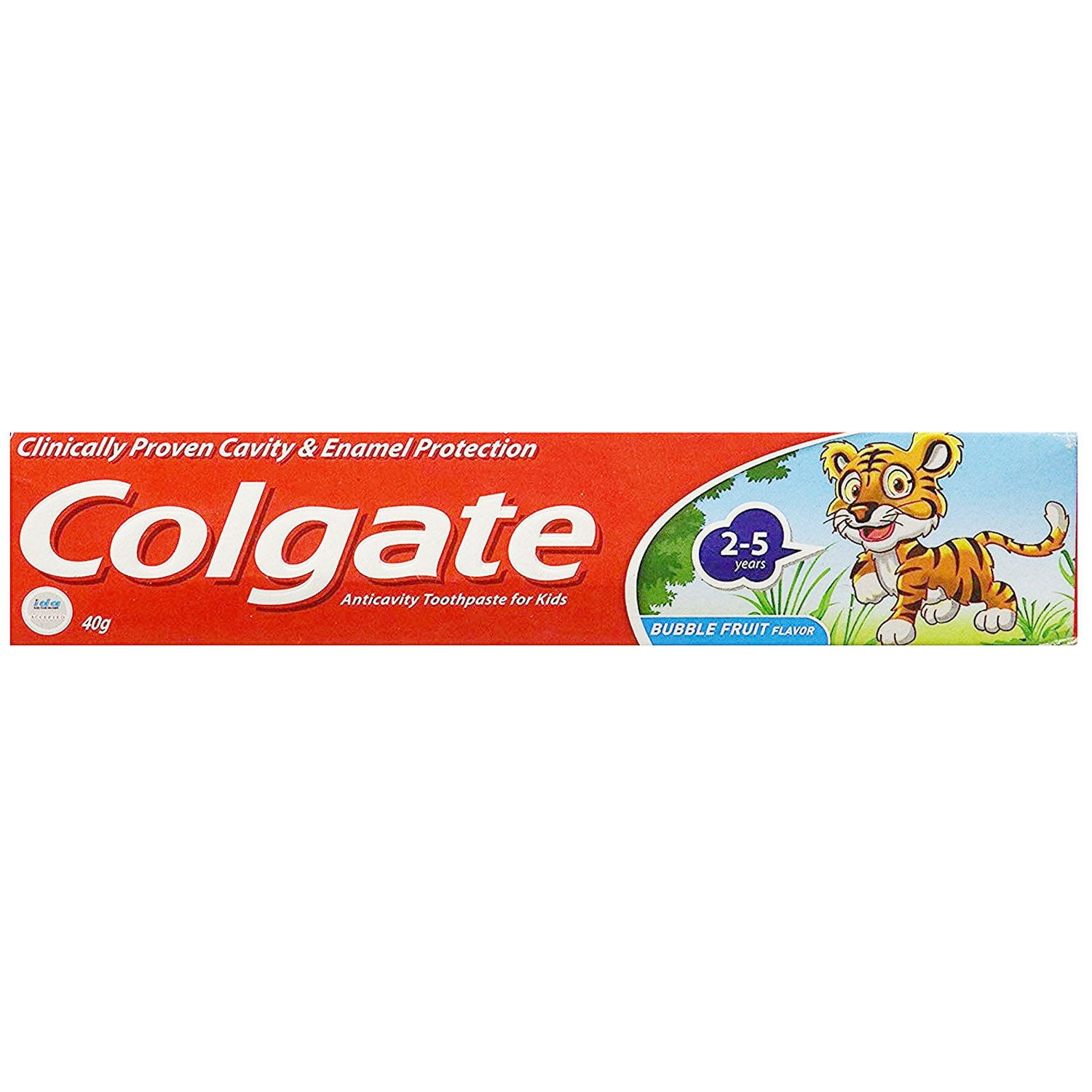 Colgate Bubble Fruit Flavoured Kids Toothpaste, 2 to 5 Years, 40 gm
