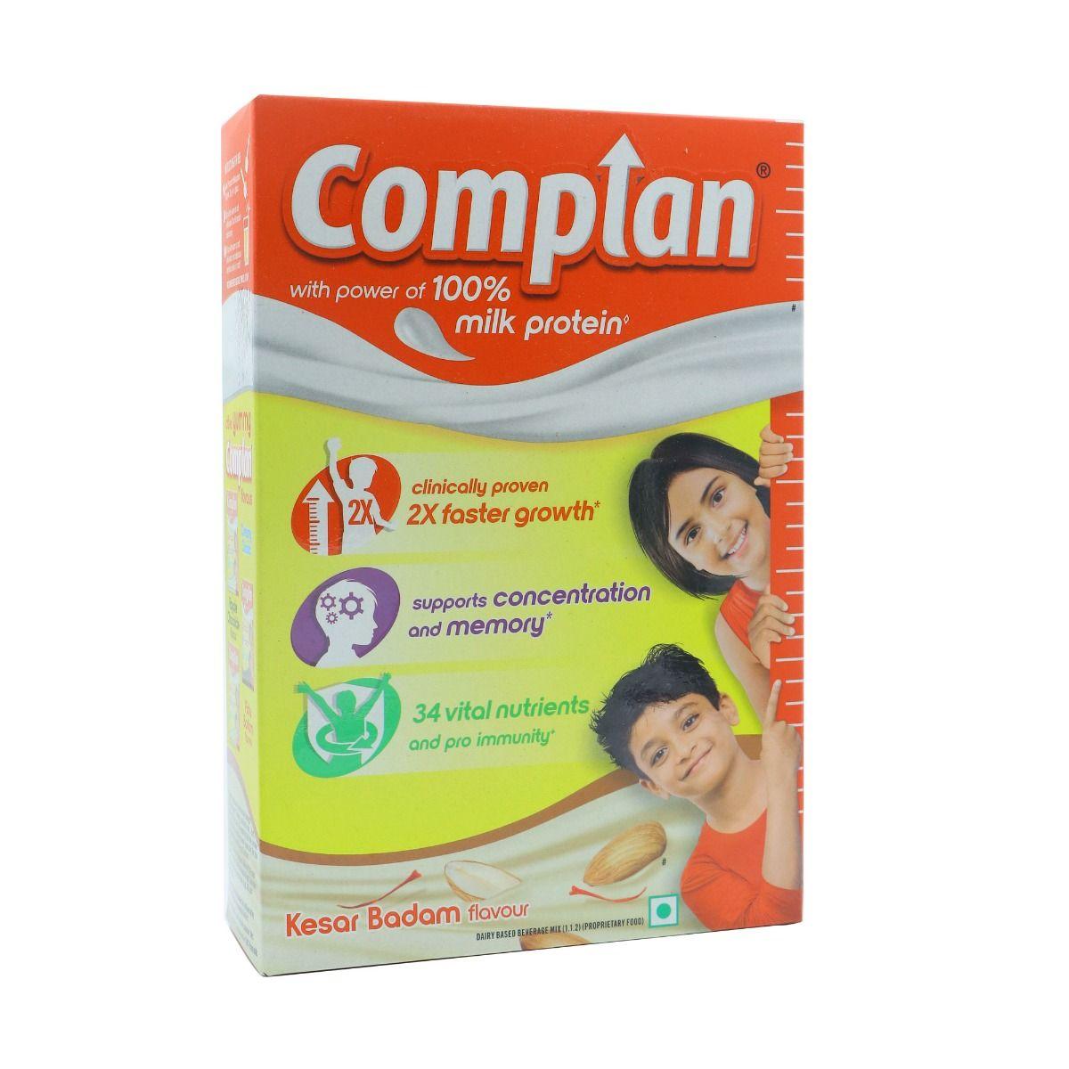 Complan Kesar Badam Flavoured Health & Nutrition Drink, 400 gm Refill Pack