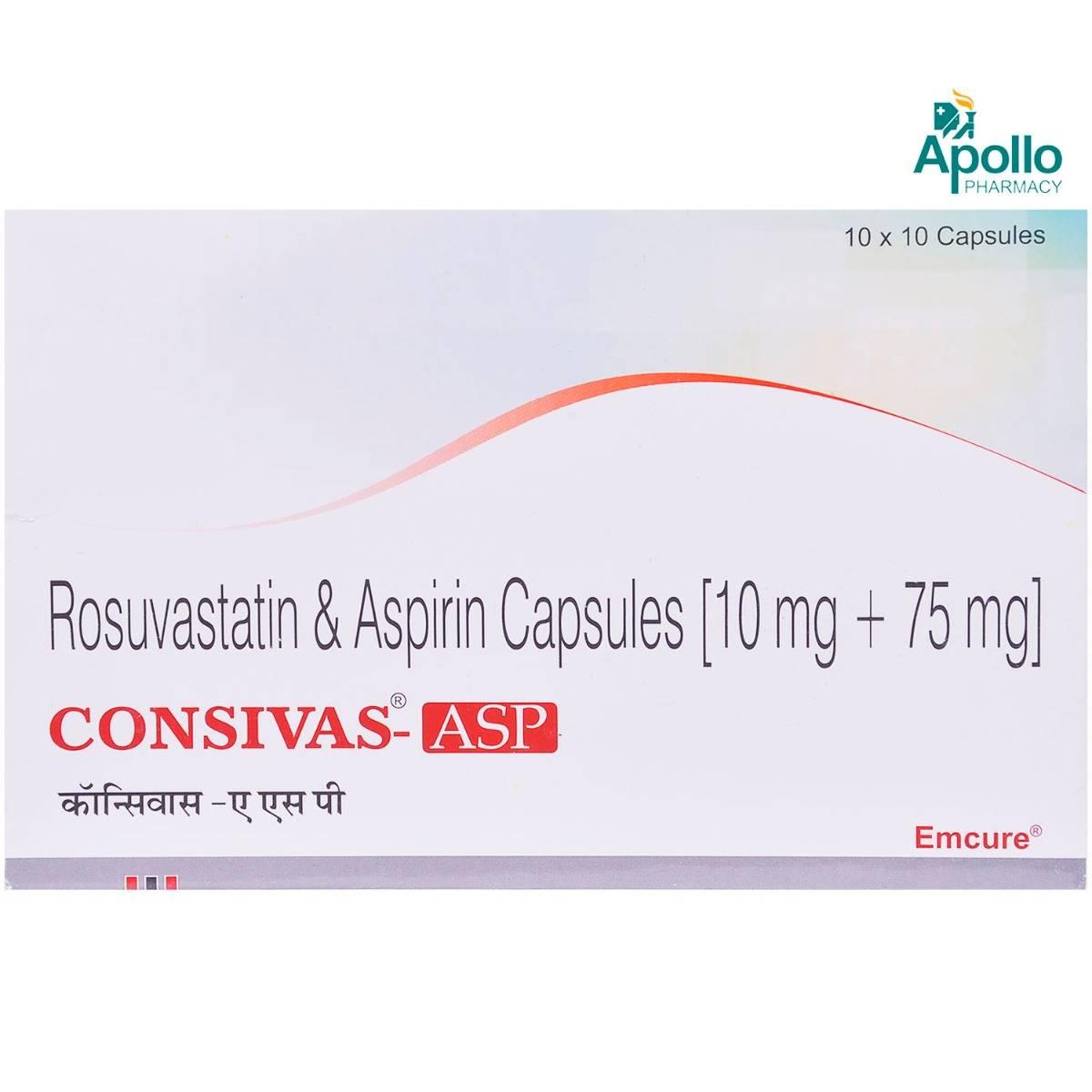 Consivas ASP Capsule 10's