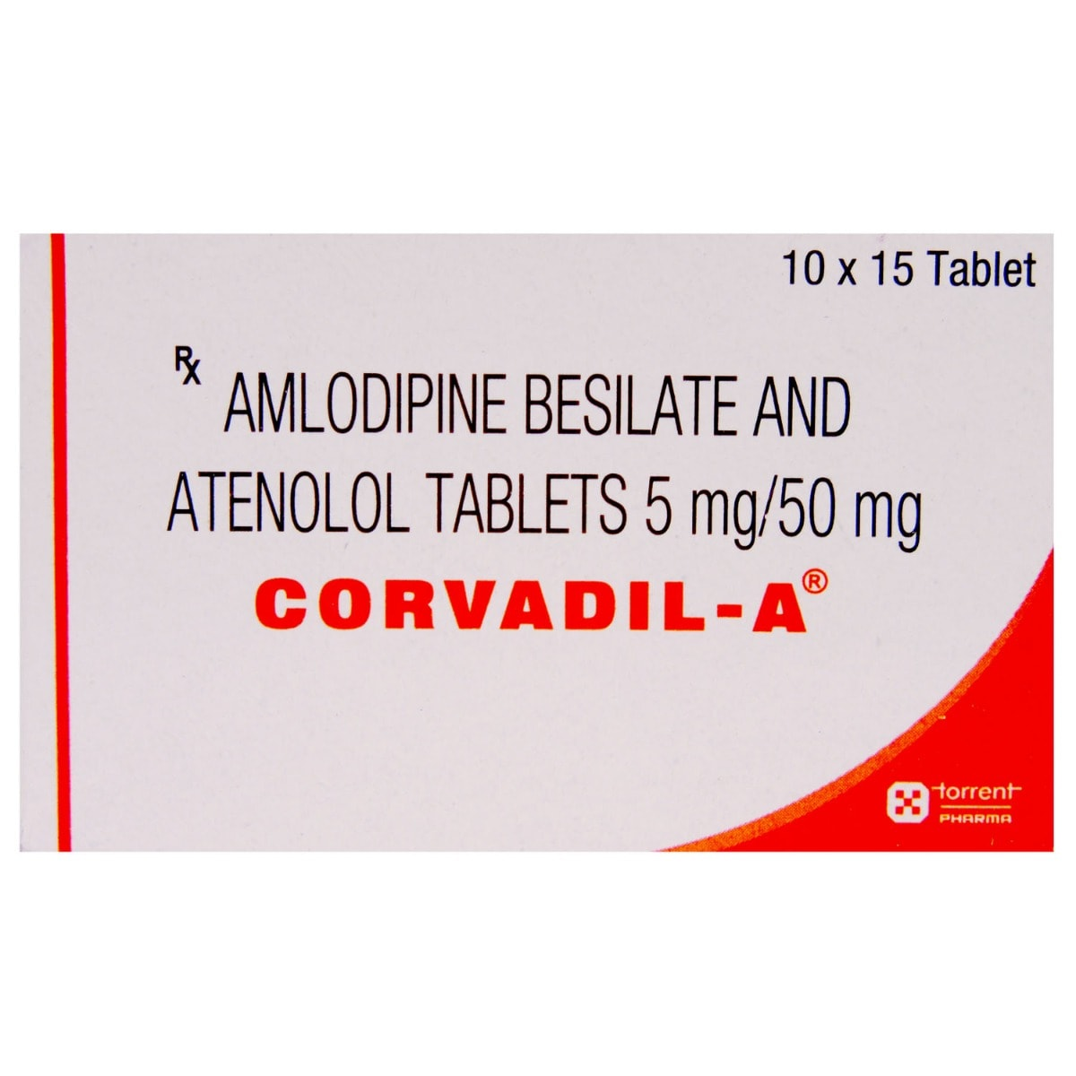 Corvadil A Tablet 15's