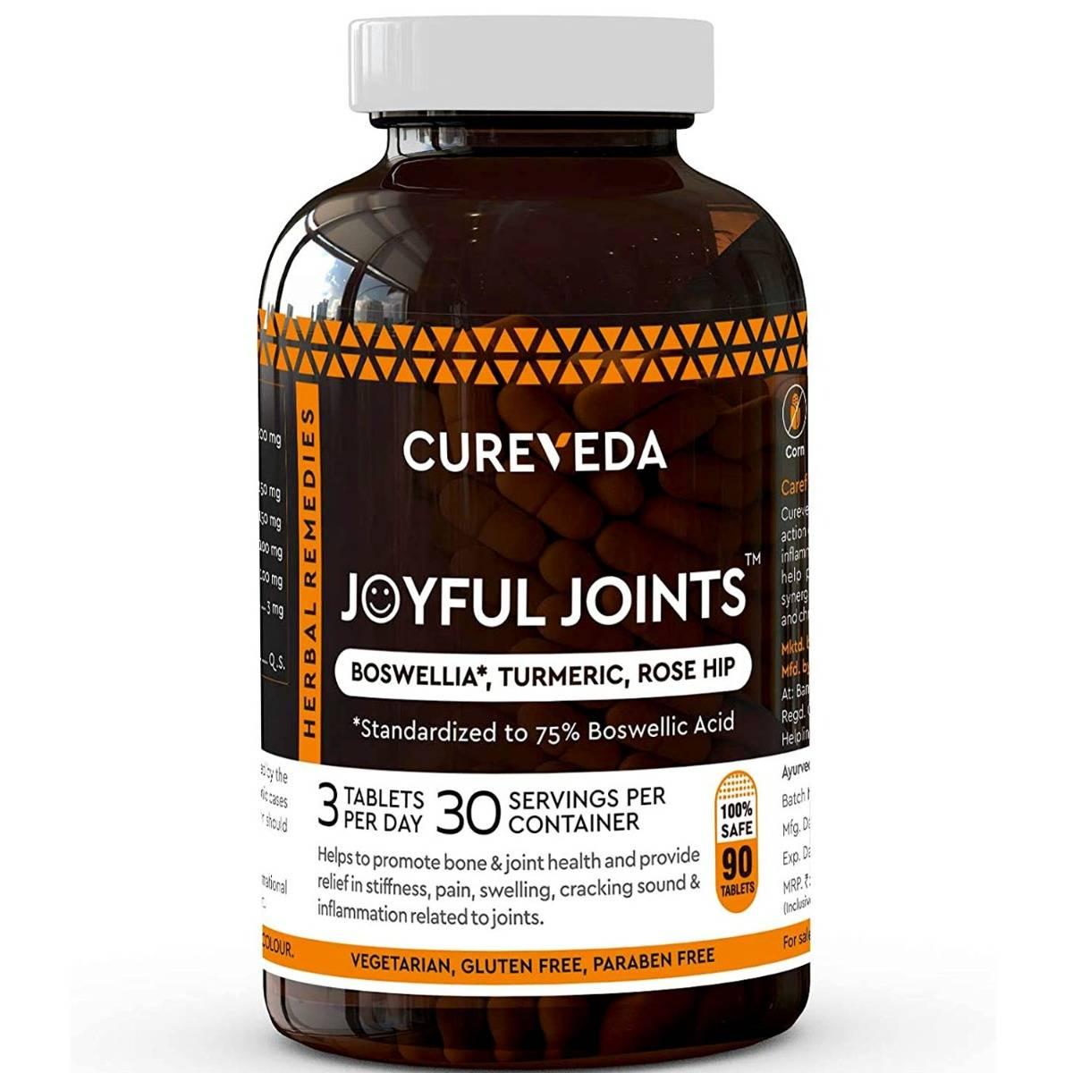 Cureveda Joyful Joints, 90 Tablets
