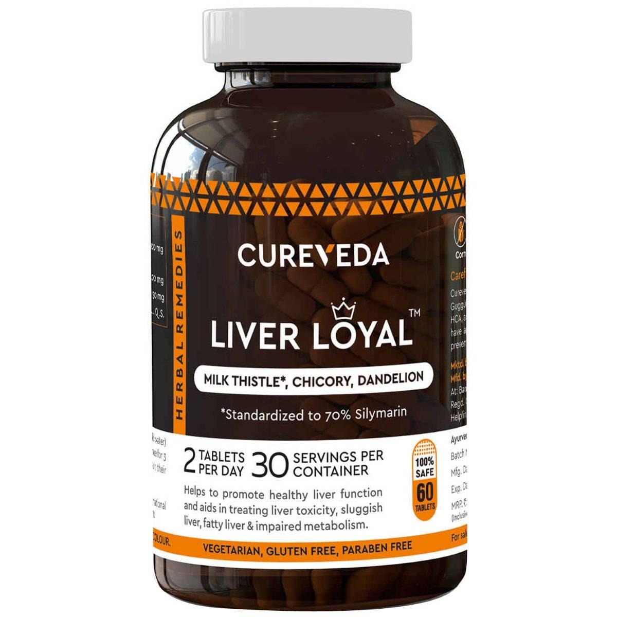 Cureveda Liver Loyal, 60 Tablets
