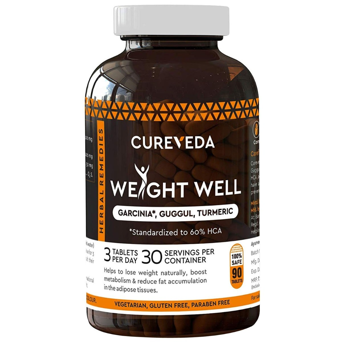 Cureveda Weight Well, 90 Tablets