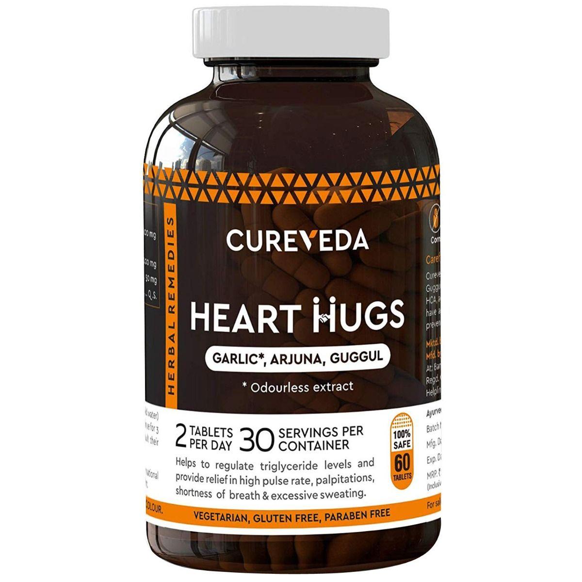 Cureveda Heart Hugs, 60 Tablets