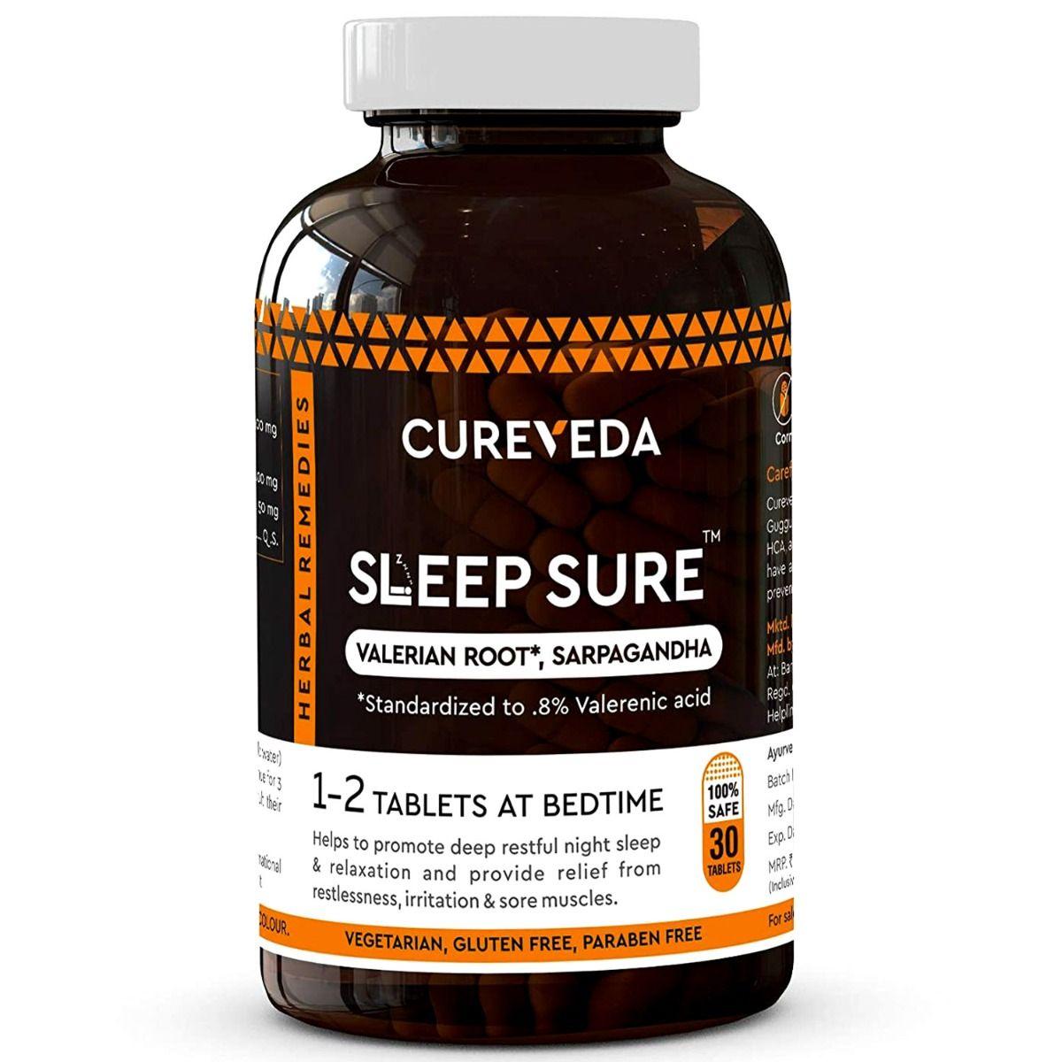 Cureveda Sleep Sure, 30 Tablets