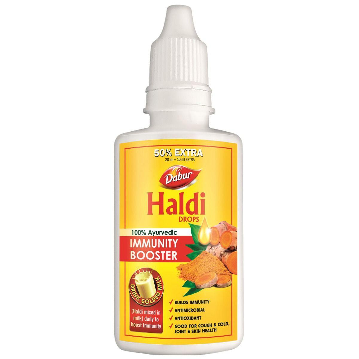 Dabur Haldi Immunity Booster Drops, 30 ml