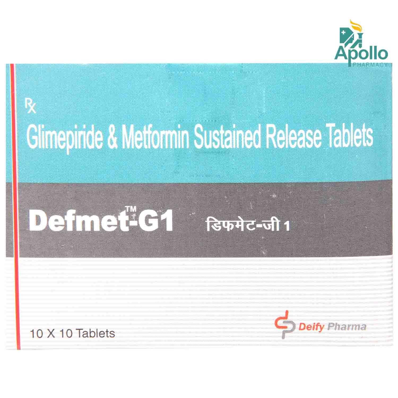 DEFMET G 1MG TABLET