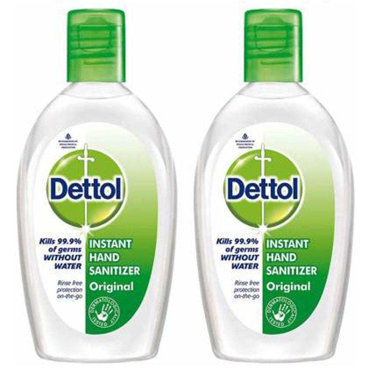 Dettol Hand Sanitizer Orginal 50*2Ml