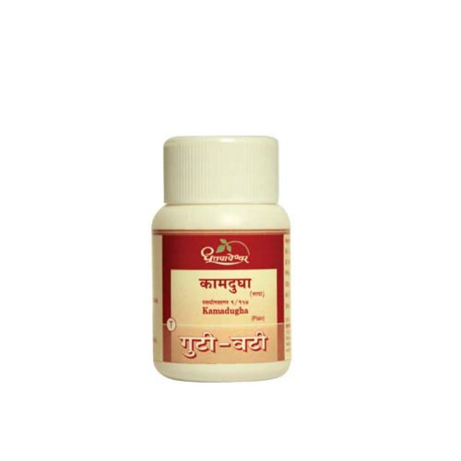 Dhootapapeshwar Kamadugha Plain Vati, 25 Tablets