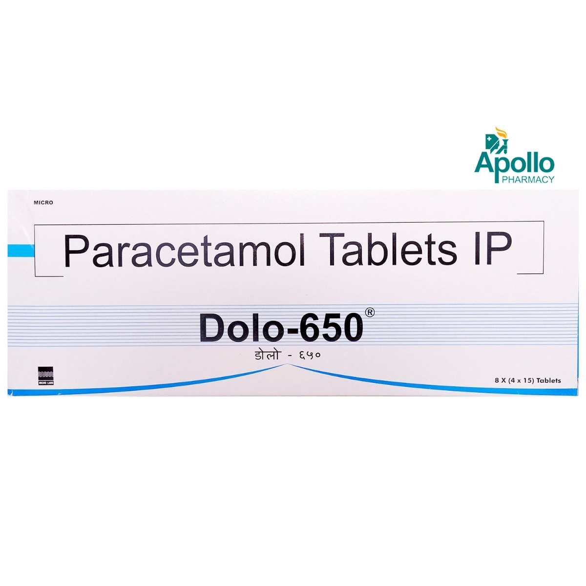 Dolo-650 Tablet 15's
