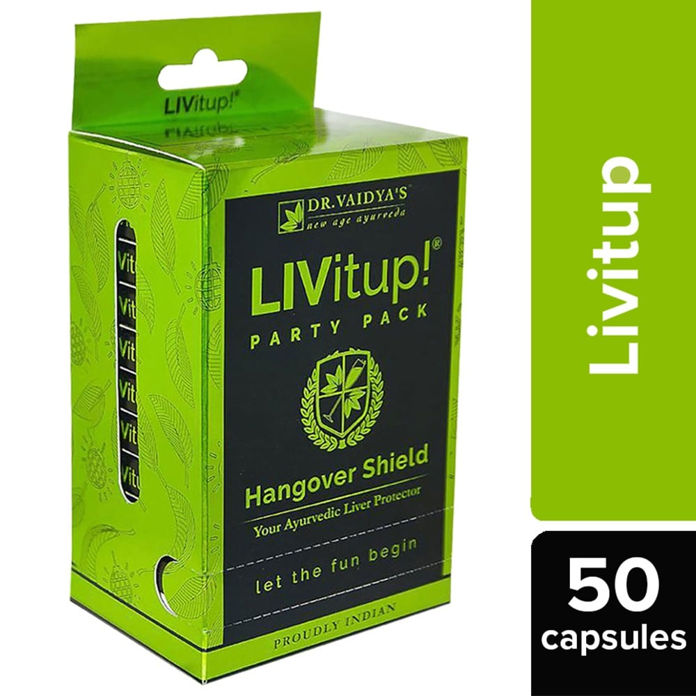 Dr. Vaidya's Livitup Party Pack, 50's