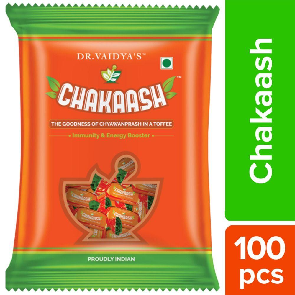 Dr. Vaidya's Chakaash Toffee, 100 Count